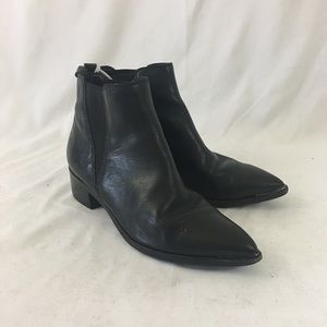 Marc Fisher Black Booties From Nordstrom NWT